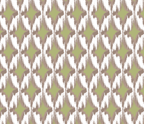 Kin (Green) fabric by einekleinedesignstudio on Spoonflower - custom fabric