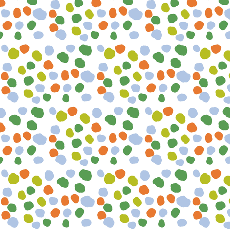 Hometown Dot fabric by lesliebedell on Spoonflower - custom fabric
