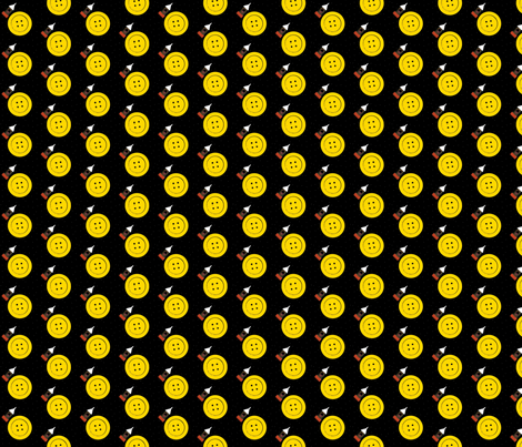 We're Off To Button Moon fabric by theunicornandthewasp on Spoonflower - custom fabric