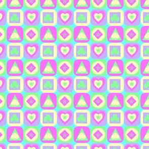 cartes pastelles