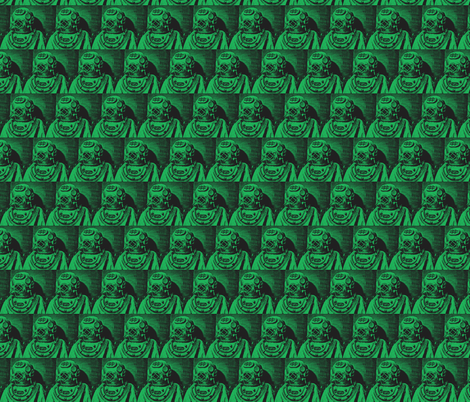 deep_sea_diver-shamrock fabric by hillarywhite on Spoonflower - custom fabric