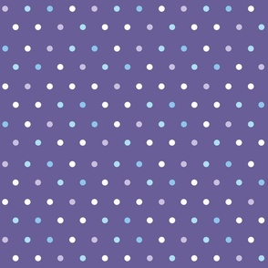 Polkadots_on_Frosty_Purple_color_dots