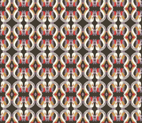 flaming-muted fabric by hillarywhite on Spoonflower - custom fabric