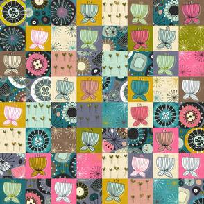 blooms patchwork