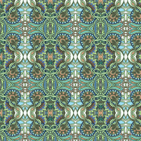 Staring at the Ceiling fabric by edsel2084 on Spoonflower - custom fabric