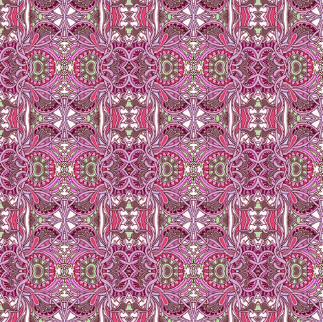 Granny's Little Angels fabric by edsel2084 on Spoonflower - custom fabric