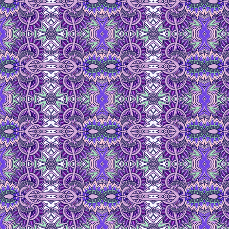 Lavender Paisley Tango fabric by edsel2084 on Spoonflower - custom fabric