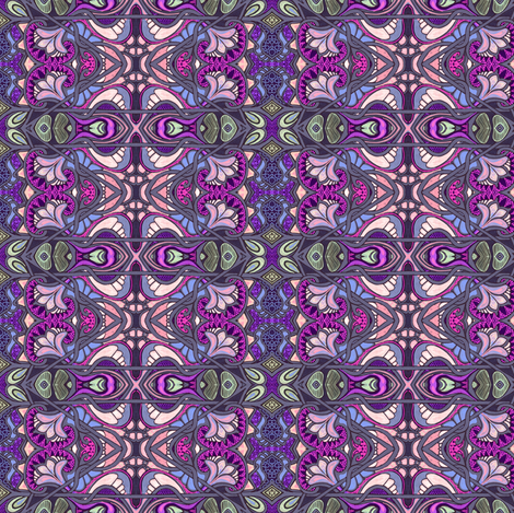 Swiss Miss (purple) fabric by edsel2084 on Spoonflower - custom fabric