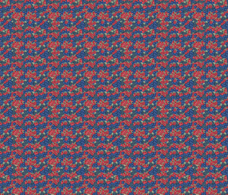Berries - Sashing fabric by thickblackoutline on Spoonflower - custom fabric