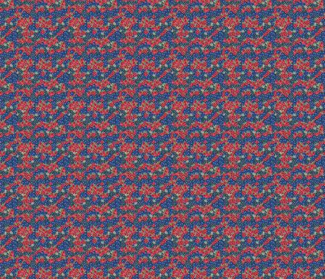 Berries - Sashing fabric by thickblackoutline on Spoonflower - custom fabric