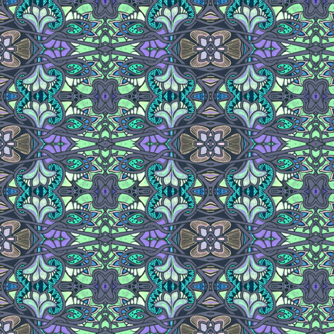 Shadeflowers fabric by edsel2084 on Spoonflower - custom fabric