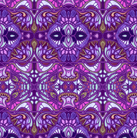 My Favorite Gypsy fabric by edsel2084 on Spoonflower - custom fabric