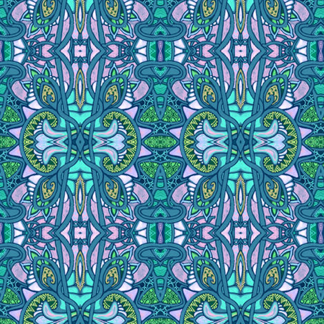 Easter Sunday fabric by edsel2084 on Spoonflower - custom fabric
