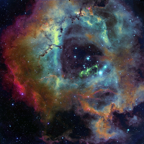 the Rosette Nebula (edited)
