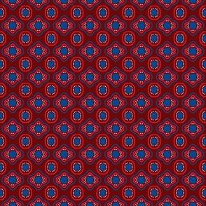 Claret Blue Mosaic