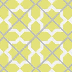 Moroccan Citron Stars and Squares by Anna See