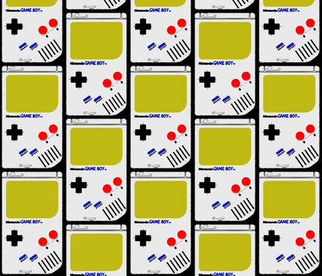 game_boy fabric by romi_vega on Spoonflower - custom fabric