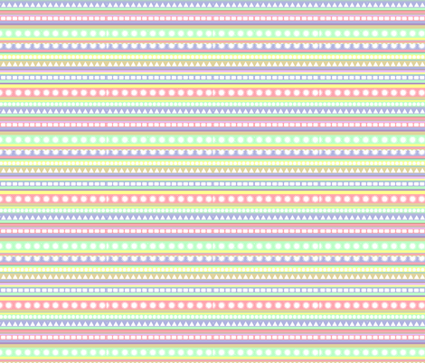 pastel_pattern fabric by romi_vega on Spoonflower - custom fabric