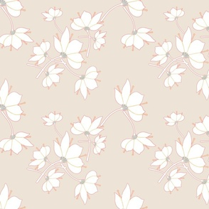 Flowerfantasybeige