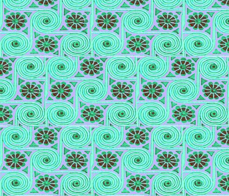PINWHEELS fabric by bluevelvet on Spoonflower - custom fabric