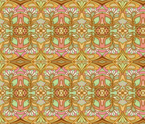 BIG Return of Art Nouveau fabric by edsel2084 on Spoonflower - custom fabric