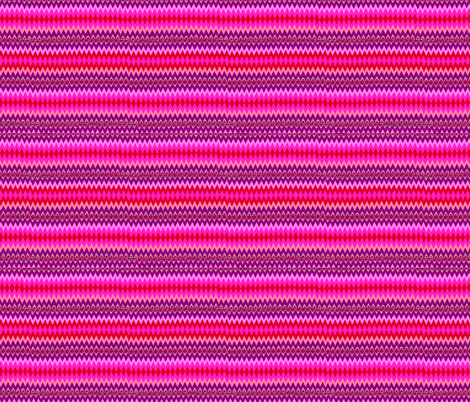 Pink Native Chevron fabric by romi_vega on Spoonflower - custom fabric