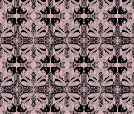 victorian in mauve  fabric by kociara on Spoonflower - custom fabric