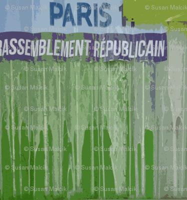 Poster Glue on Corrugate