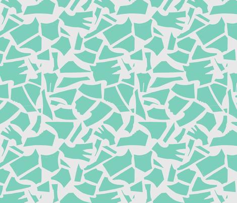 Dressmaking Pattern Pieces fabric by reuteim5 on Spoonflower - custom fabric