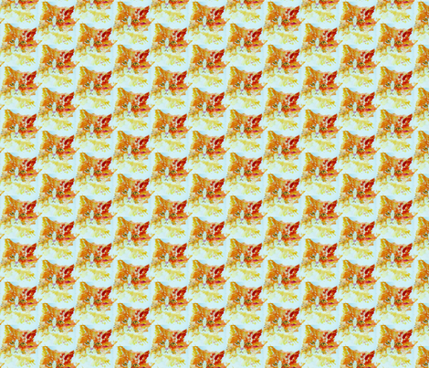 kitty cat fabric by loveoffabrics on Spoonflower - custom fabric