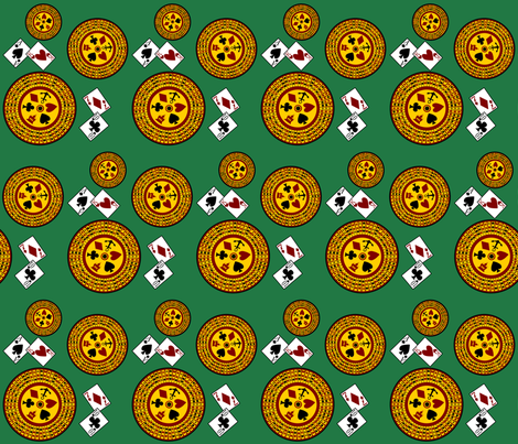 Crown and Anchor fabric by blondfish on Spoonflower - custom fabric