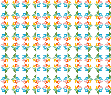 triangle mills summer fabric by studiojelien on Spoonflower - custom fabric