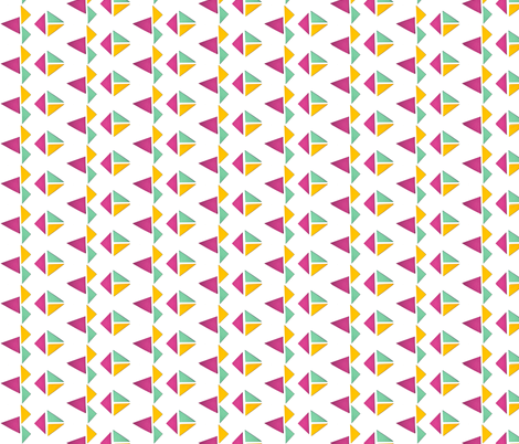 triangle_25 fabric by studiojelien on Spoonflower - custom fabric