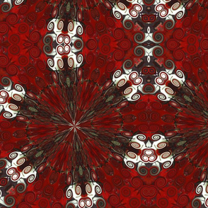 Japanese Blood Red pattern 5