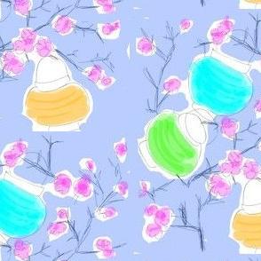Cherry Blossoms & Paper Lanterns! (sketch multi)
