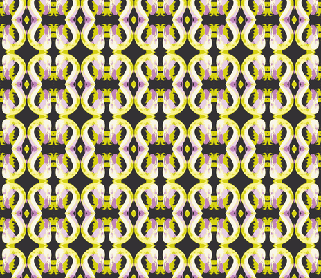 flaming-gilded lilac fabric by hillarywhite on Spoonflower - custom fabric