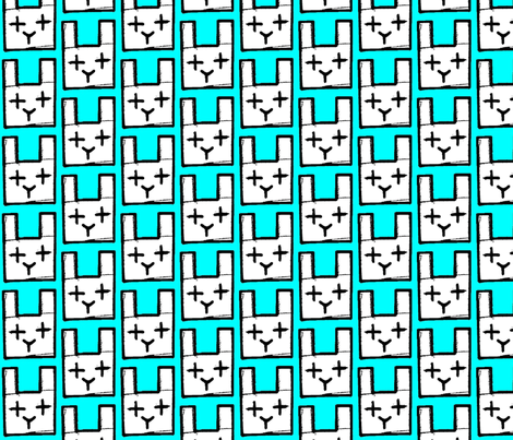 rabit fabric by hotel_radio on Spoonflower - custom fabric
