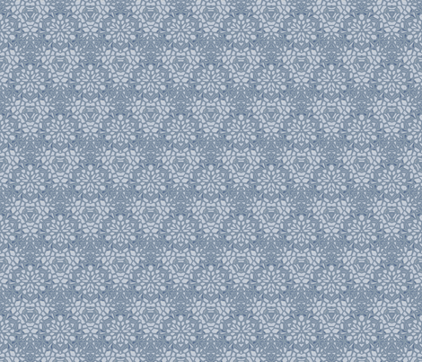 Limestone Digital Floral © Gingezel™ 2012 fabric by gingezel on Spoonflower - custom fabric