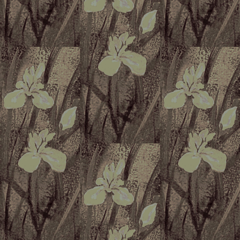 Blush Orchids smog fabric by paragonstudios on Spoonflower - custom fabric