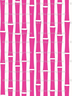Bamboo Too (Fucshia)