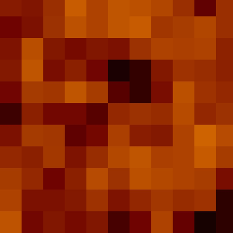 pixel pumpkin fabric by paragonstudios on Spoonflower - custom fabric