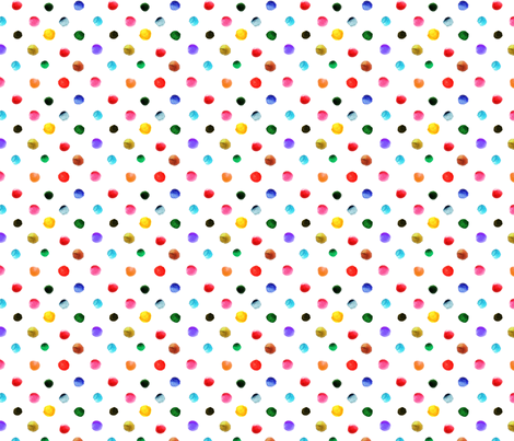 pois_d_aquarelle_M fabric by nadja_petremand on Spoonflower - custom fabric