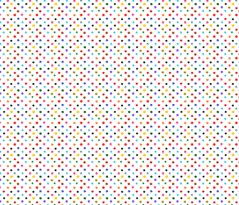 pois_d_aquarelle_S fabric by nadja_petremand on Spoonflower - custom fabric