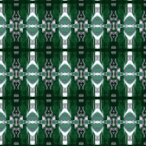 Green Glass Stripes