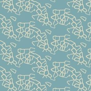 Crystal Split Eggshell Linen