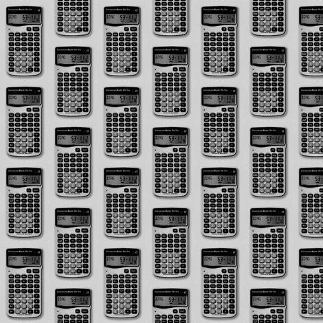calculator fabric by romi_vega on Spoonflower - custom fabric