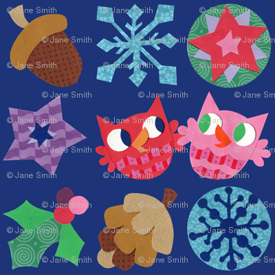 Super Hoot Winter Owls, Acorns & Stars