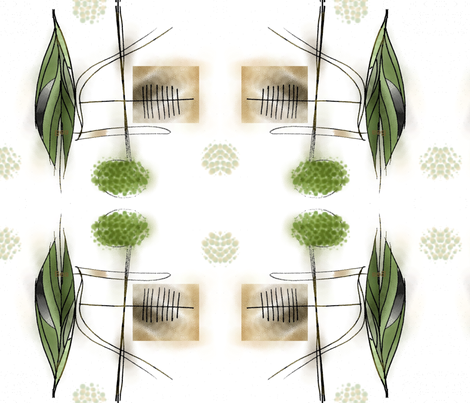 forest fabric by mandybeau on Spoonflower - custom fabric