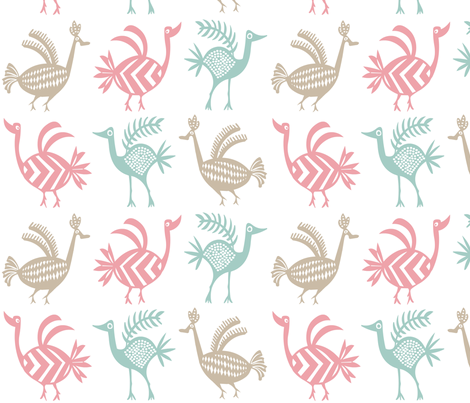 thebirds fabric by michael_woods on Spoonflower - custom fabric