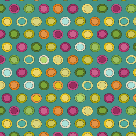 stellata funky spot fabric by scrummy on Spoonflower - custom fabric